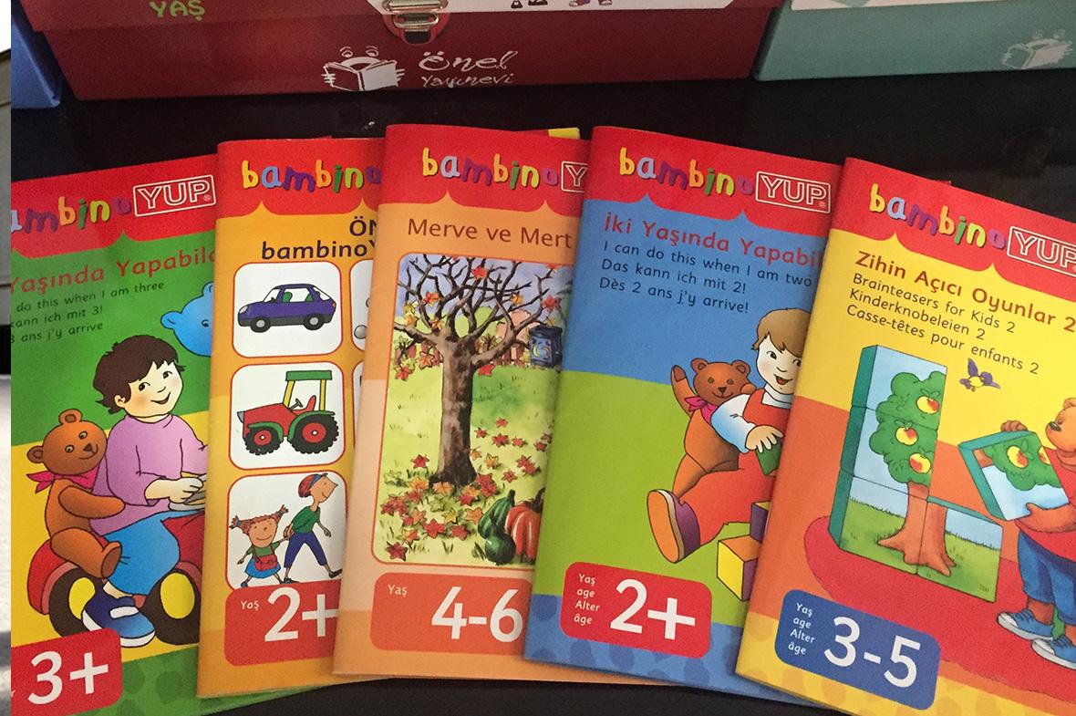 2-13 Yaş Etkinlik Kitapları Bambino Yup